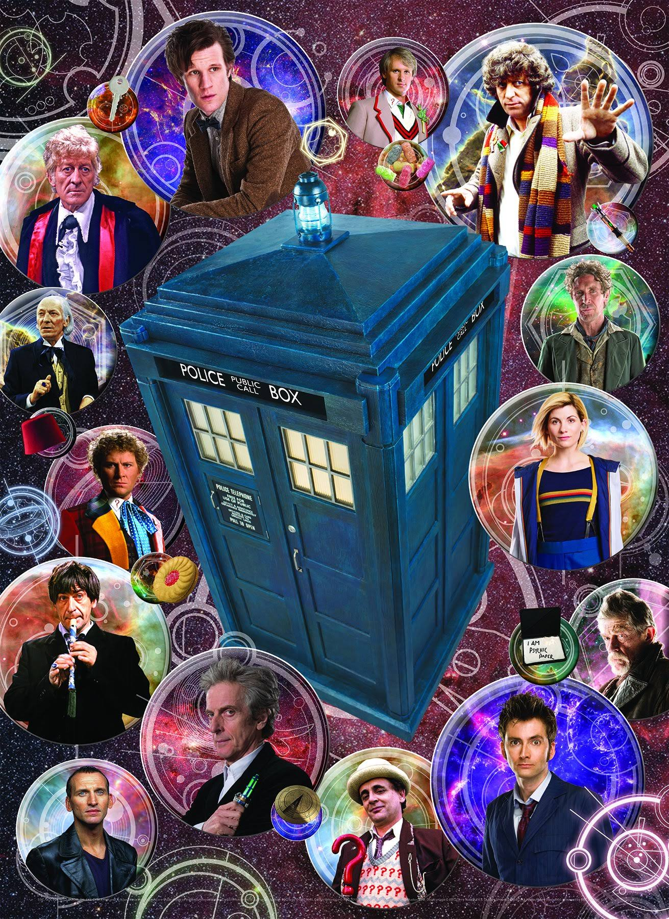 Cobble Hill Doctor Who Puzzle - 1000 Pieces