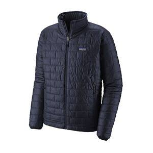 Patagonia Men's Nano Puff 2018 Winter Jackets and Parkas - Navy Blue, Large