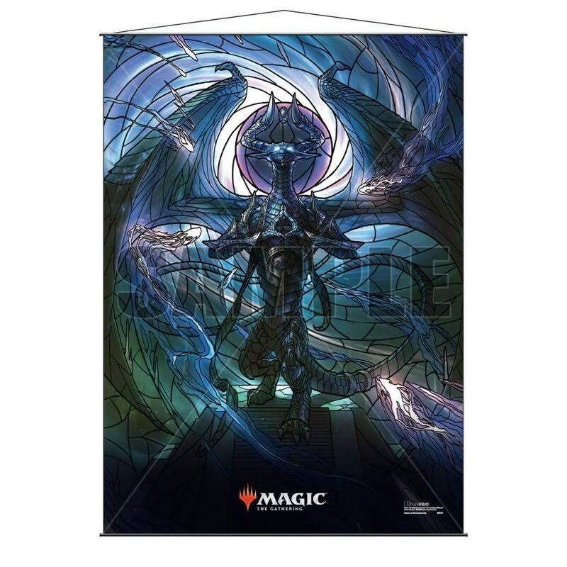 Ultra PRO Official Magic: The Gathering Wall Scrolls - War of the Spark Stained Glass Planeswalkers Nicol Bolas
