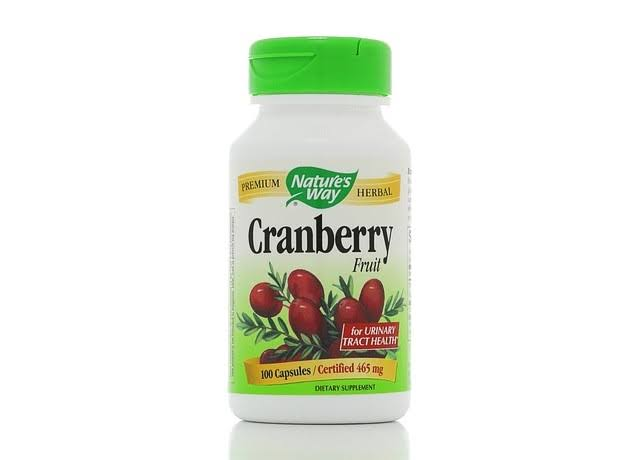 Nature's Way Cranberry Fruit - 465mg, 100 Capsules