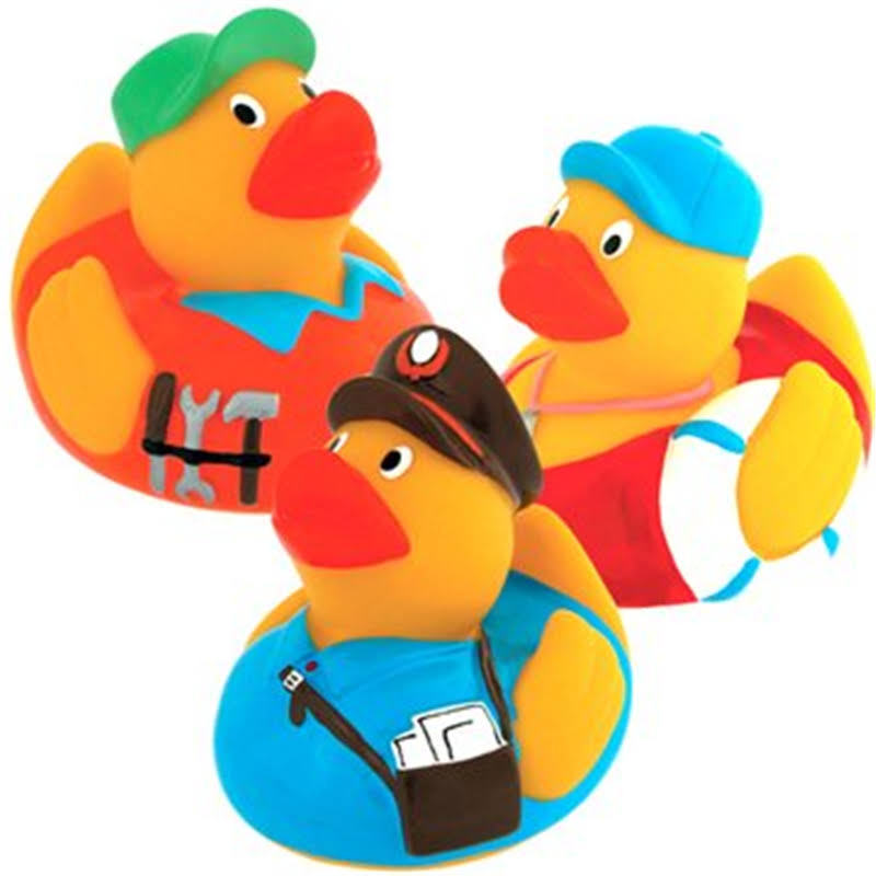 Schylling Occupational Rubber Ducky