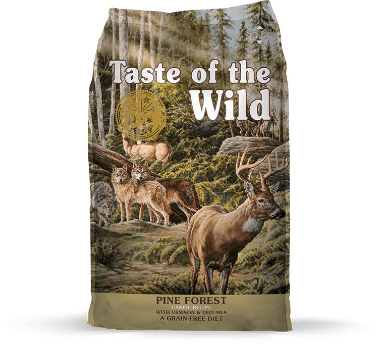 Taste of the Wild Dog Food - Tow Pine Forest Venison, 28lb