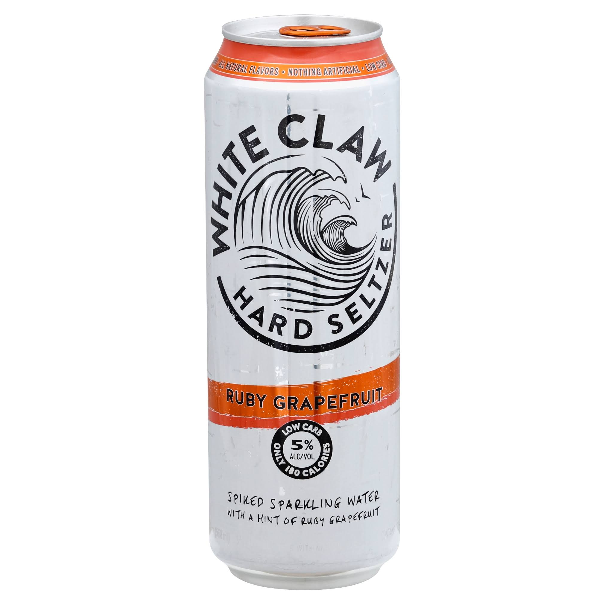 White Claw Beer, Ruby Grapefruit - 19.2 fl oz