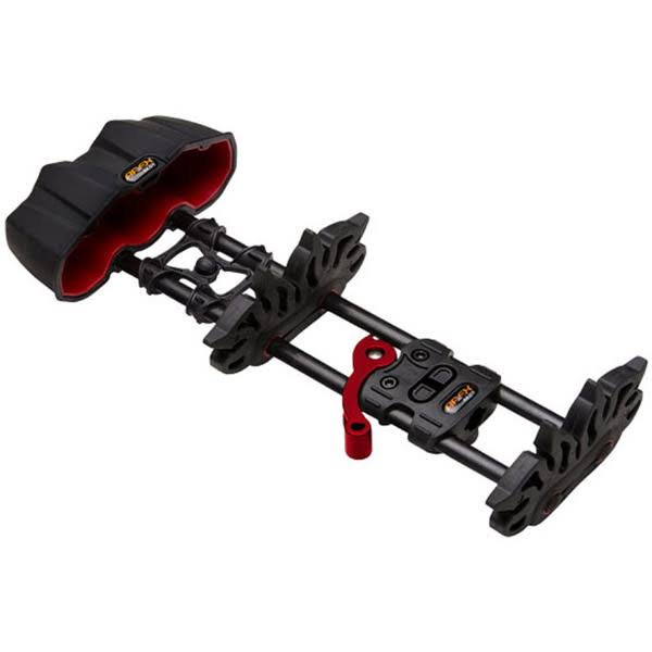Apex Gear AG215BK Reactor Quiver - Black, 5 Arrow Capacity
