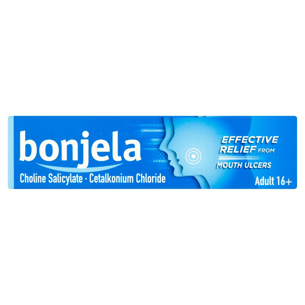 Bonjela Adult Mouth Ulcers Relief - 15g