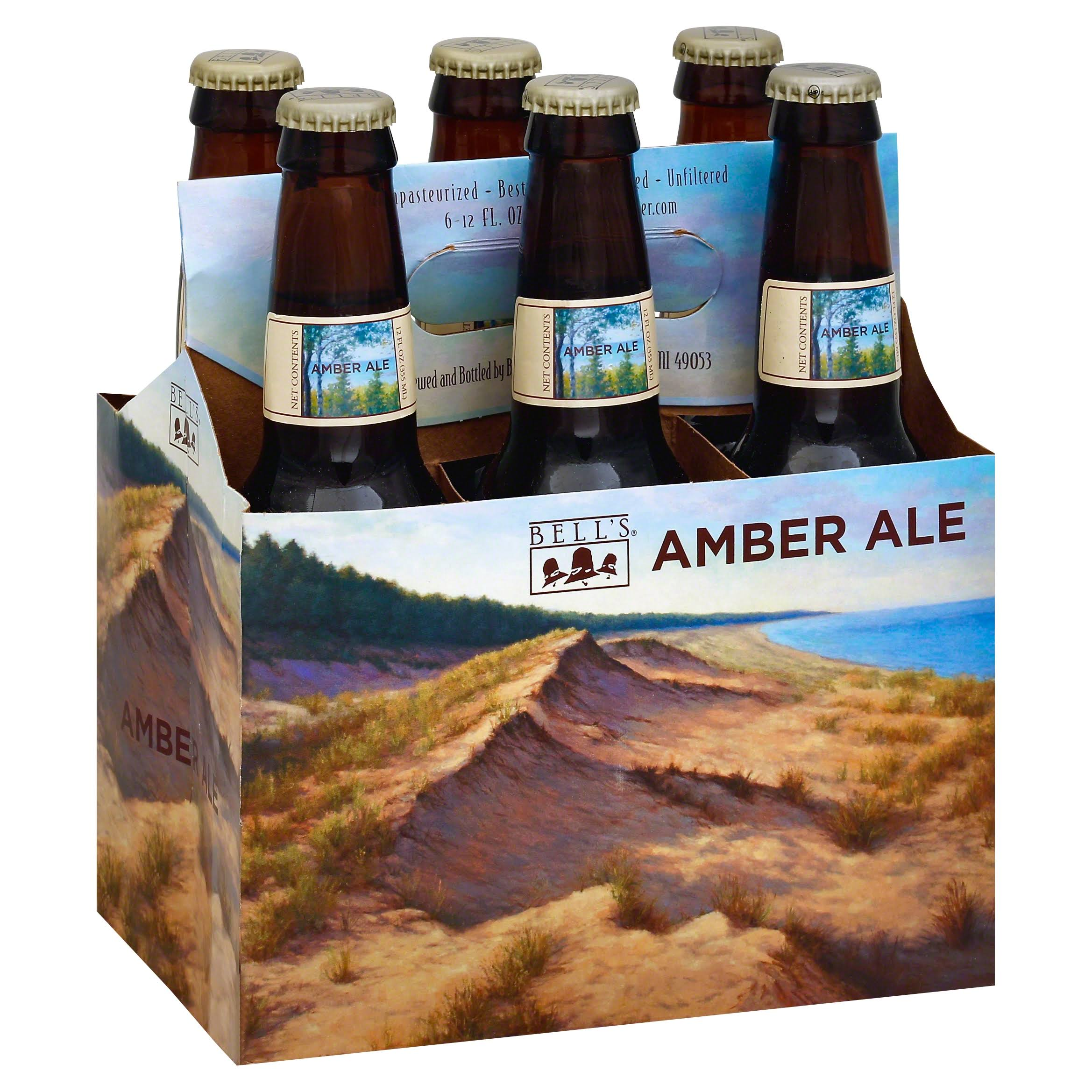 Bells Beer, Amber Ale - 6 pack, 12 fl oz bottles