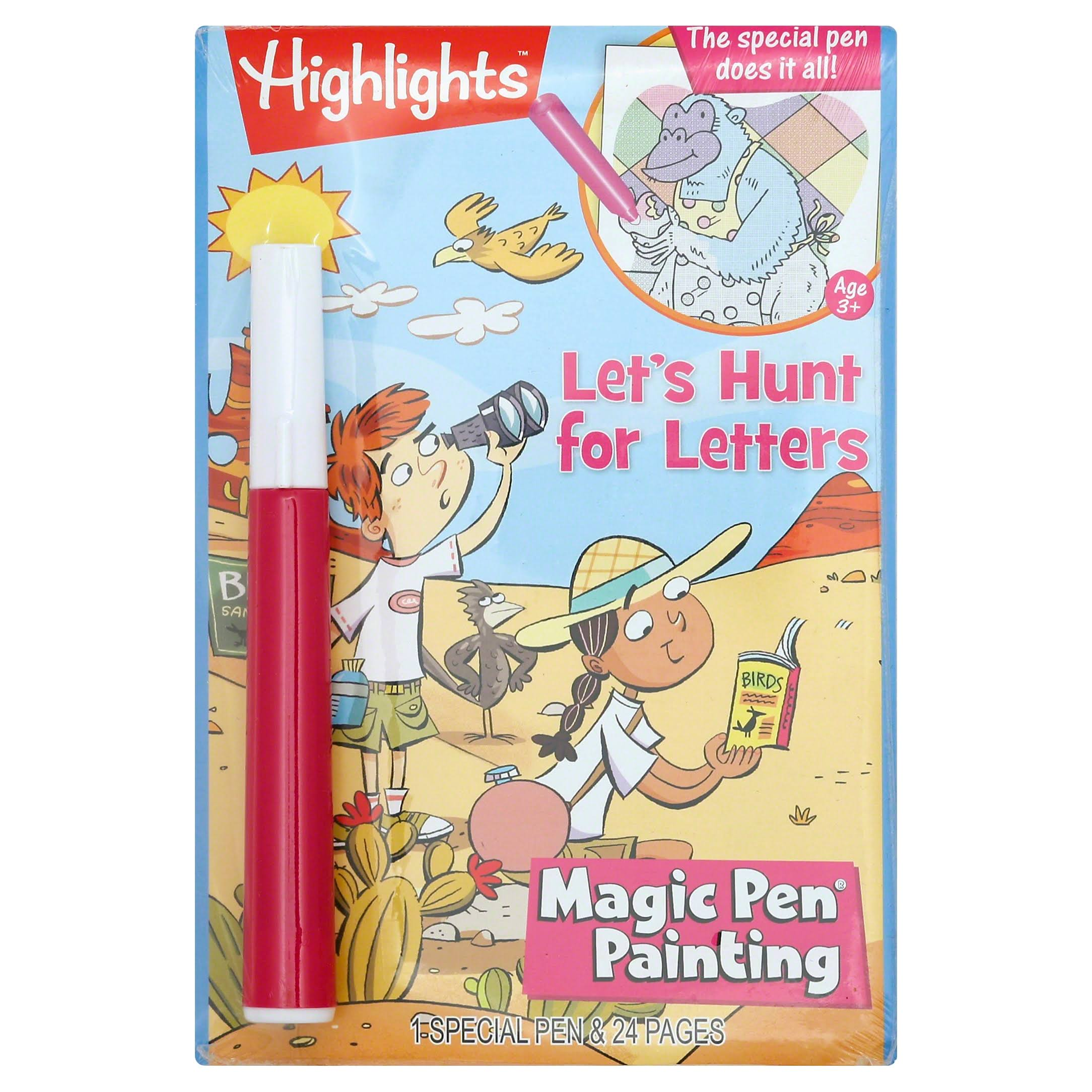 Magic Pen Book, Let's Hunt for Letters
