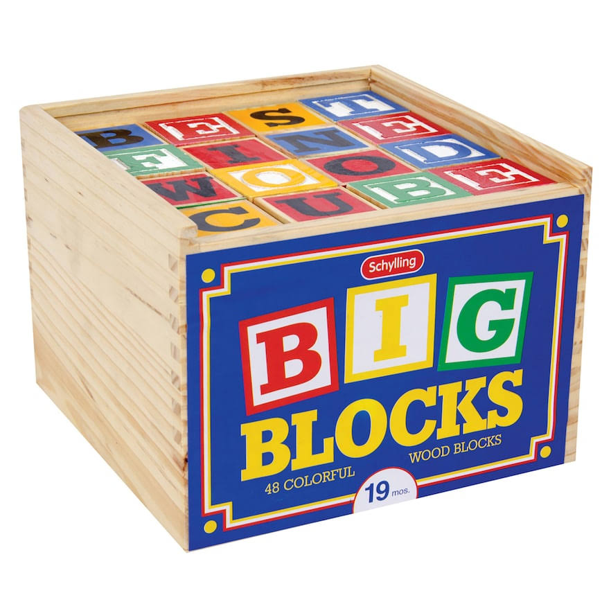 Schylling Big Abc Blocks