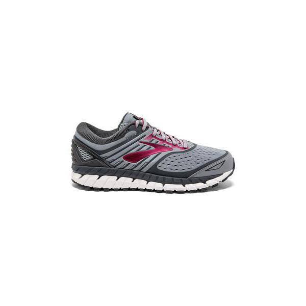 Brooks Ariel '18 (Grey/Grey/Pink) Women's Running Shoes