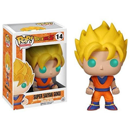 Funko POP! Animation Dragonball Z Super Saiyan Goku Action Figure