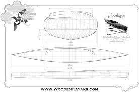 microbootlegger double paddle canoe plans guillemot kayaks