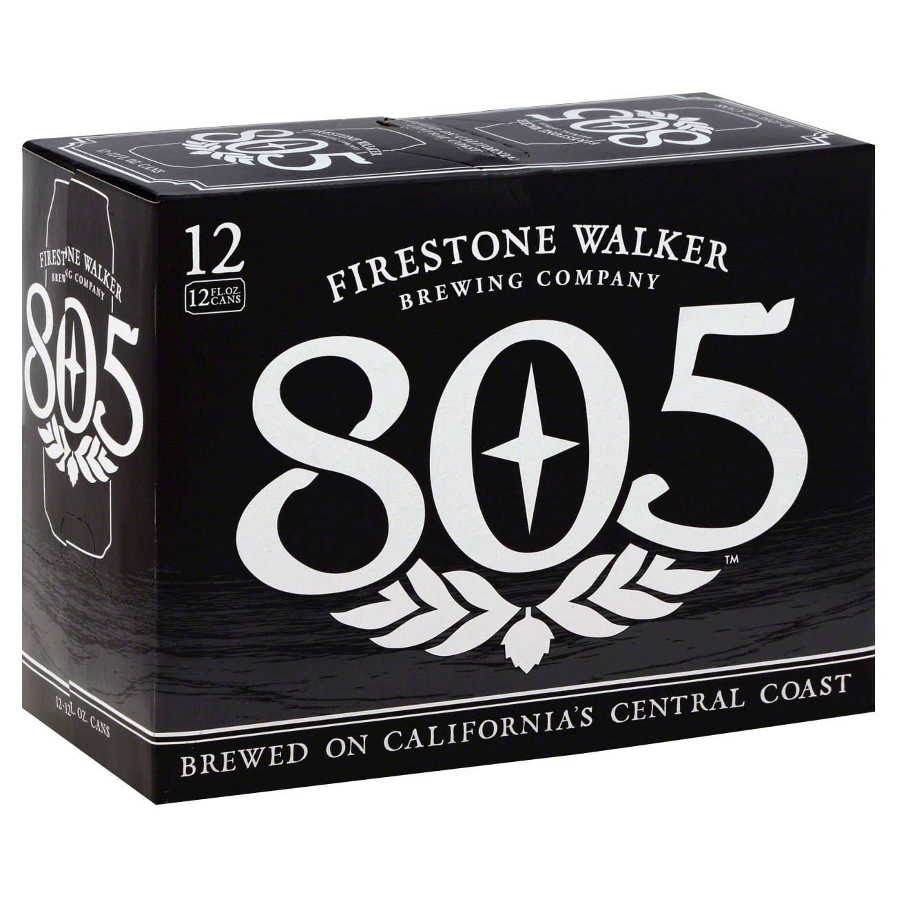 Firestone Walker Beer, Ale, 805 - 12 pack, 12 fl oz cans