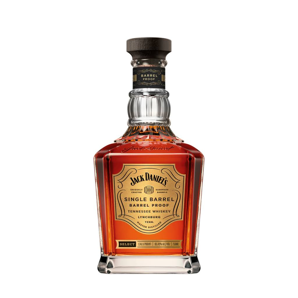 Jack Daniel's Single Barrel 100 Proof Whiskey - 0.7l