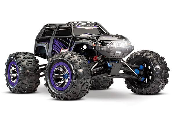 Traxxas Summit 4WD Monster Truck Radio Toy - with 2.4GHz, TQi