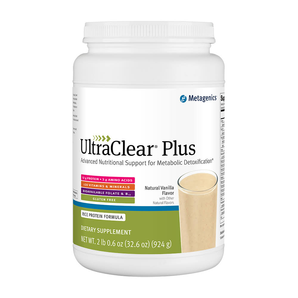 Metagenics Ultraclear Plus Medical Food Supplement - Natural Berry, 33.3oz