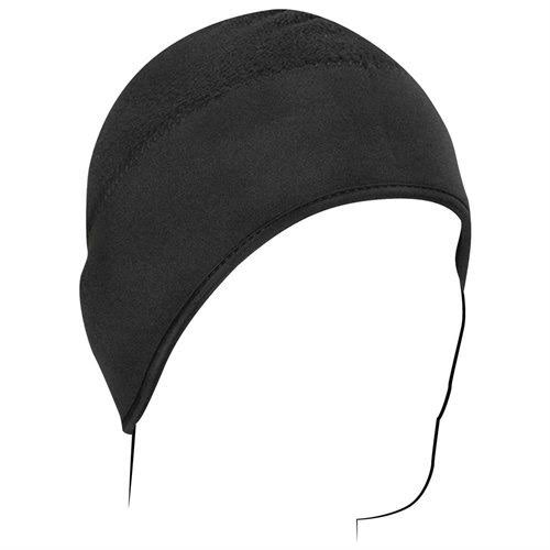 Zan Headgear Motorcycle Street Riding Micro Fleece Helmet Liner - Black