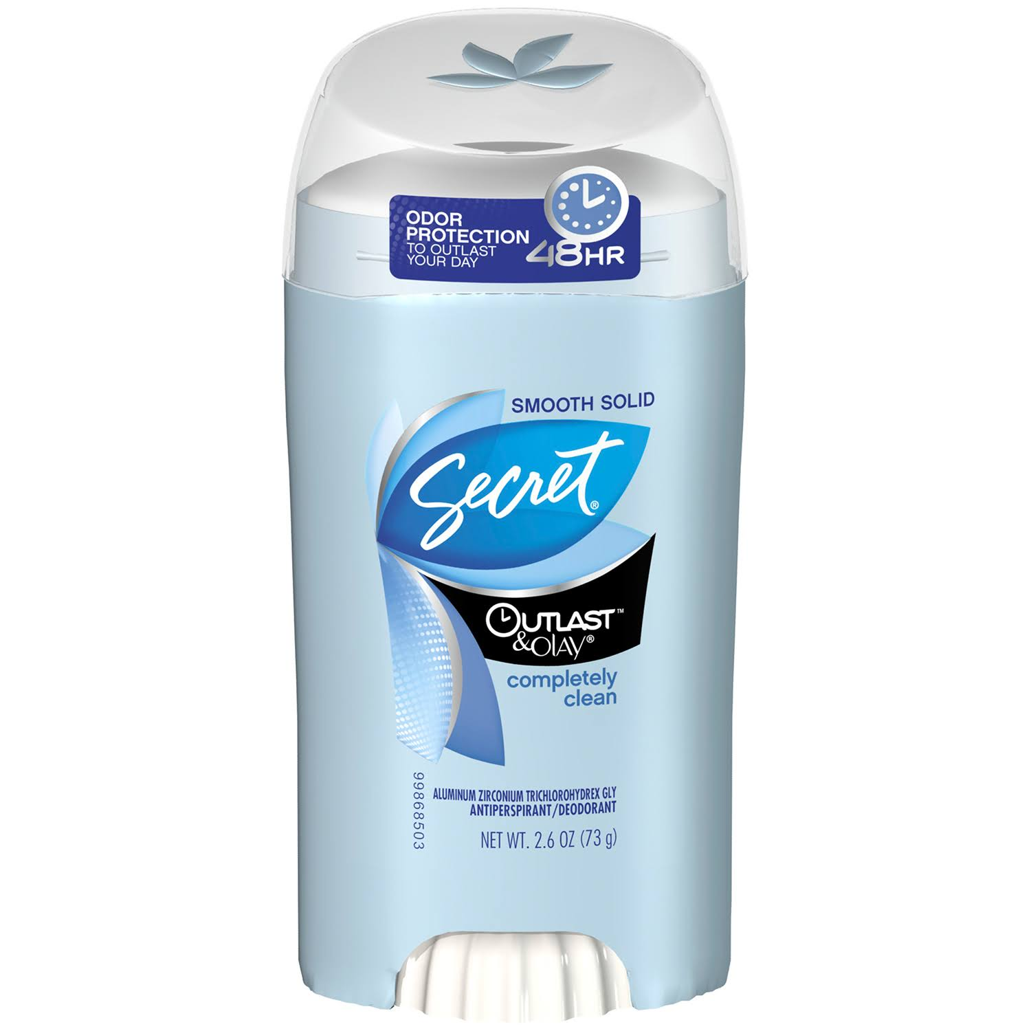 Secret Outlast & Olay Completely Clean Smooth Solid Women's Antiperspirant & Deodorant - 2.6oz