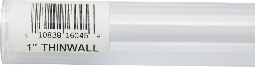 "Lees Rigid Tubing 1"" x 3ft"