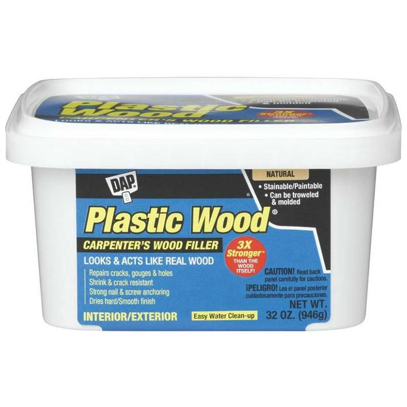 Dap Plastic Wood All Purpose Wood Filler - 907g