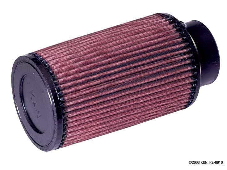 K&N High Performance Universal Air Filter - 76mm