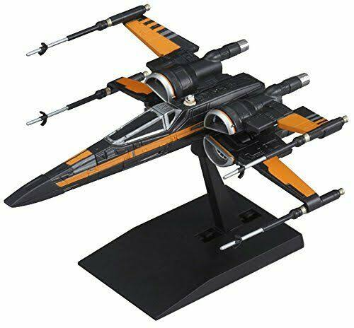 Vehicle Model 003 Star Wars X-Wing Fighter PoE Dedicated Machine Plastic *AF27*