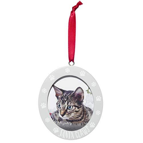 Pearhead Holiday Ornaments - Santa Claws Pet Frame Ornament