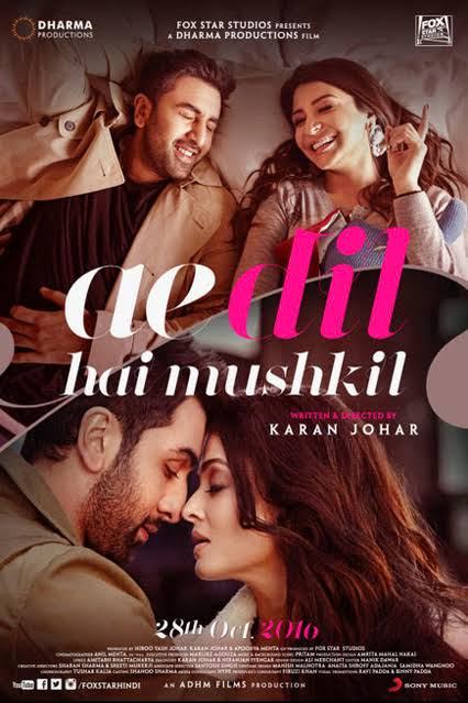 Ae Dil Hai Mushkil Hindi Movie Free Download 2016 720p BluRay