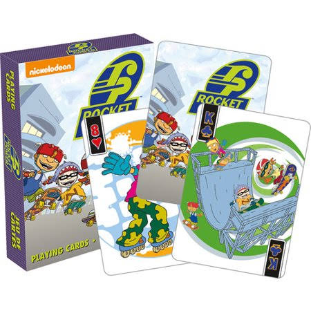 Rocket Power Playing Cards - 8.9cm x 6.4cm, 52ct