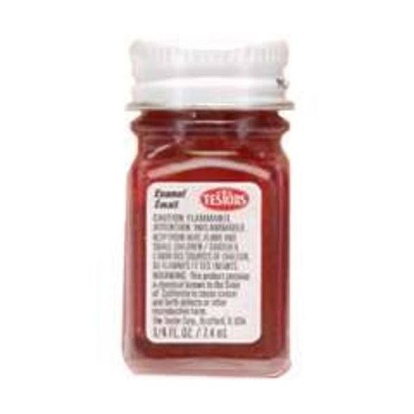 Testors Enamel Paint, Red