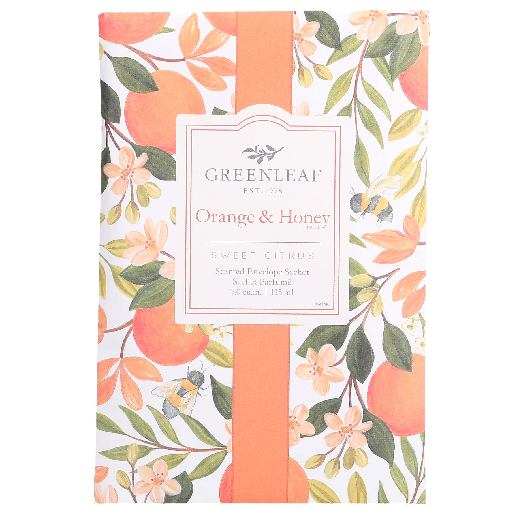 Greenleaf Sachet Orange & Honey