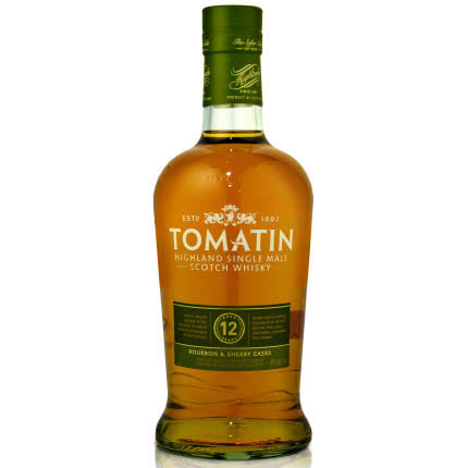 Tomatin 12 Year Single Malt Highland Scotch Whisky - 750 ml bottle