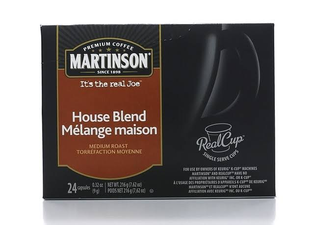 Martinson House Blend Coffee RealCups - 24 count