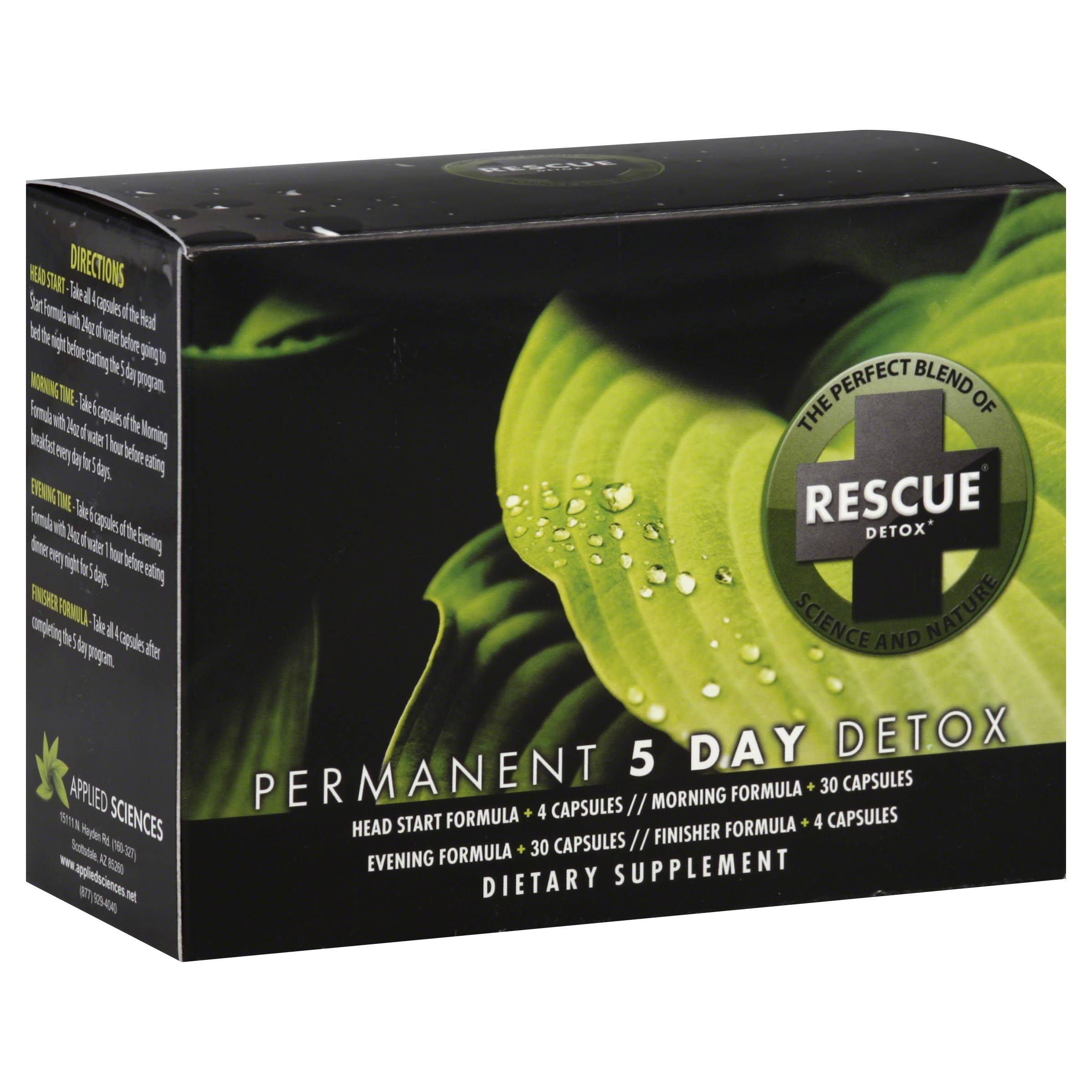 Rescue Detox Permanent 5 Day Detox Kit