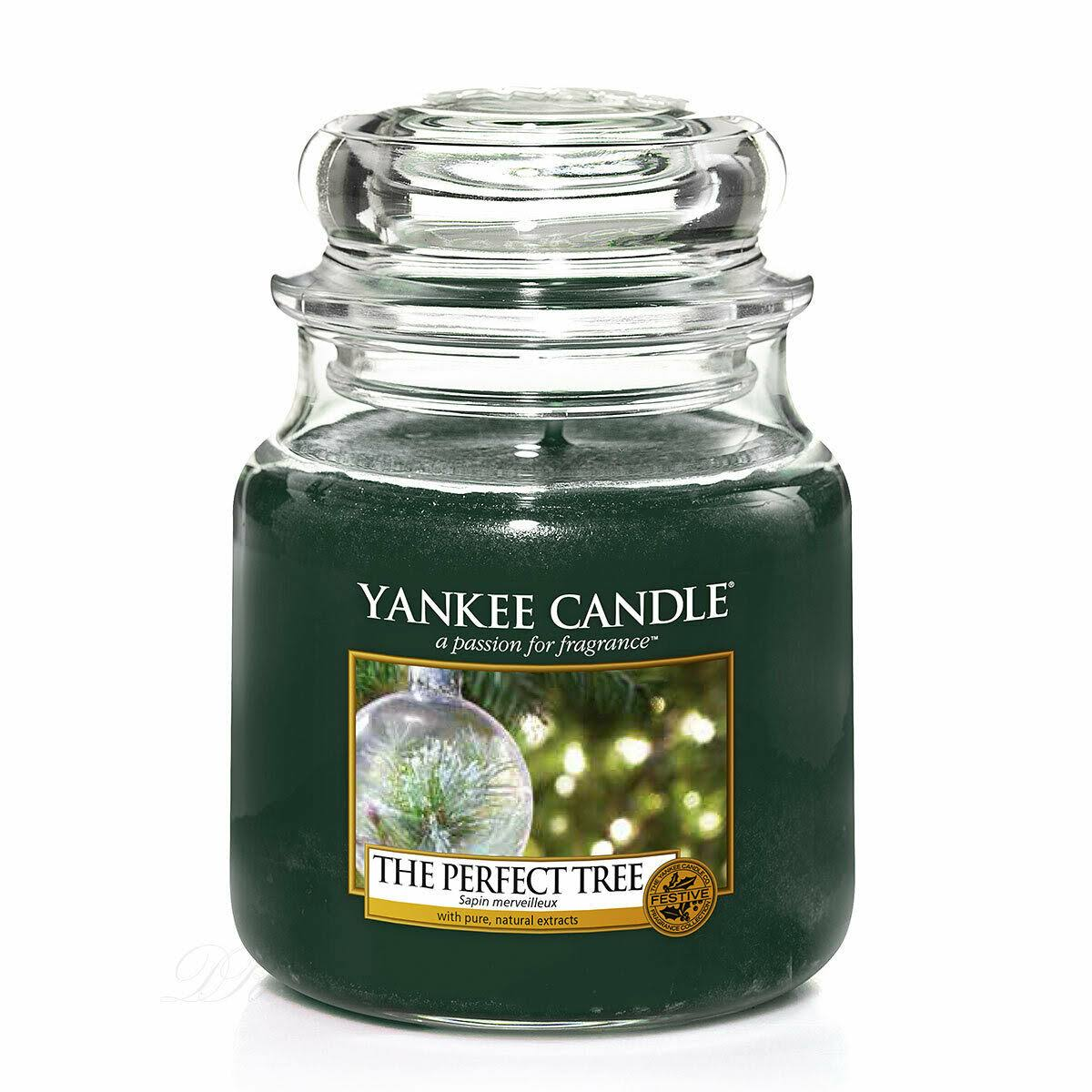 Yankee Candle Jar - The Perfect Tree, Medium