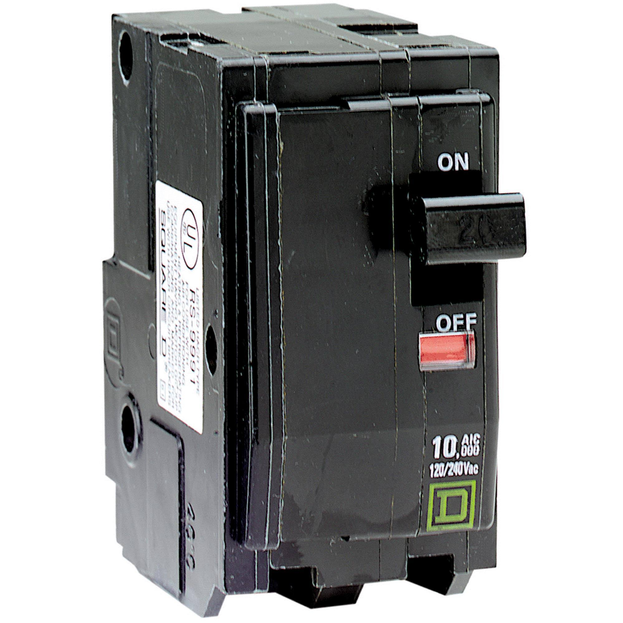 Square D QO Two-Pole Circuit Breaker - 70A