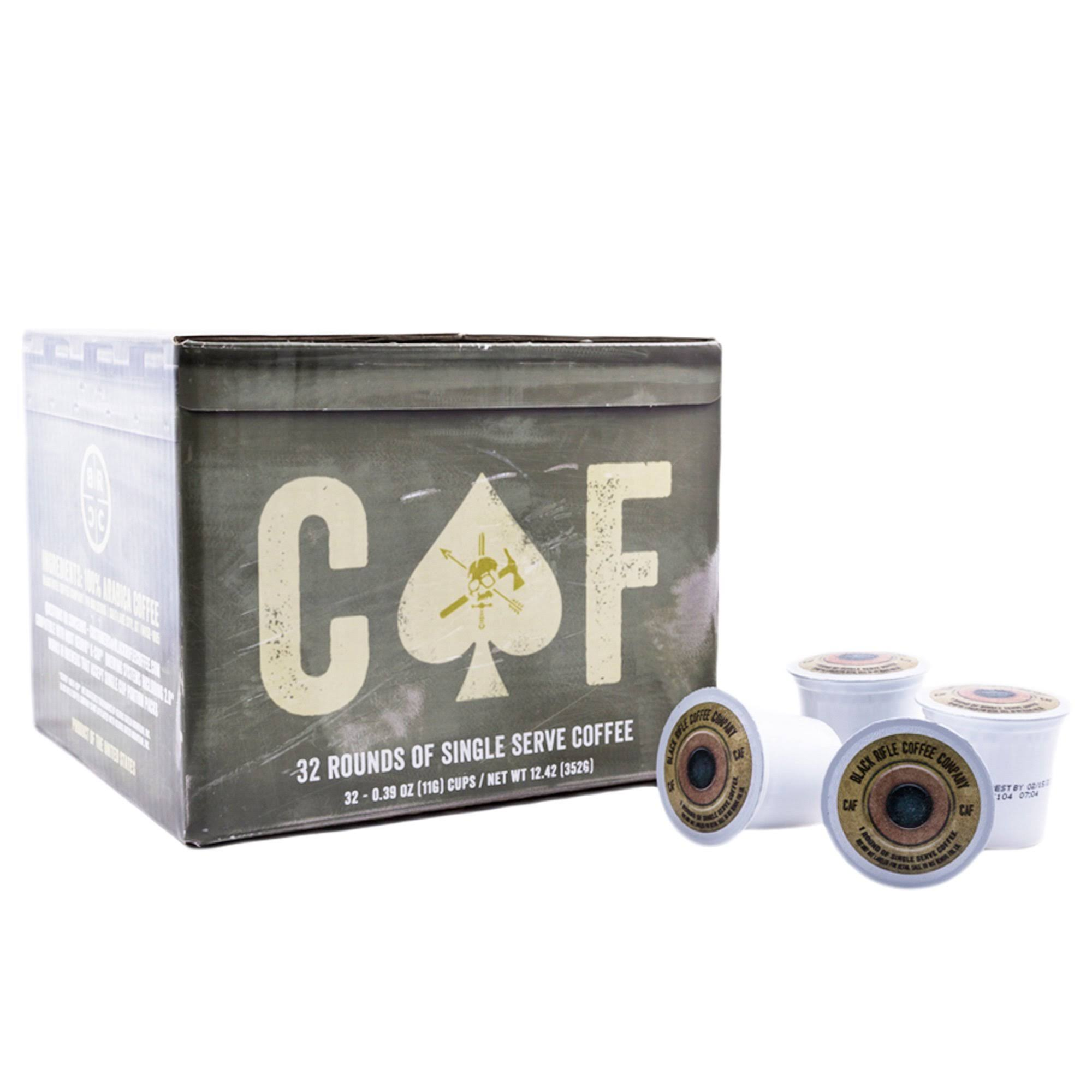 Black Rifle Coffee Company CAF Caffeinated AF Single Serve Capsules