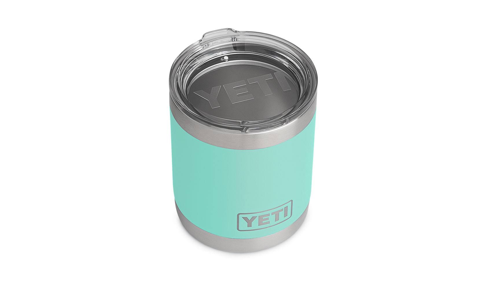YETI Rambler Lowball Stainless Steel Cup with Lid - 10oz