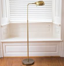 Surveyor Floor Lamp Tripod by Brass Floor Lamp With Shell Shade Ebth