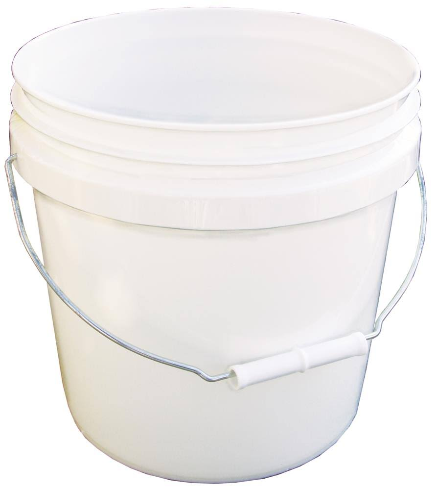 Encore 2 Gallon White Pail