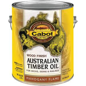Cabot Australian Timber Oil - Mahogany Flame, 3.78l