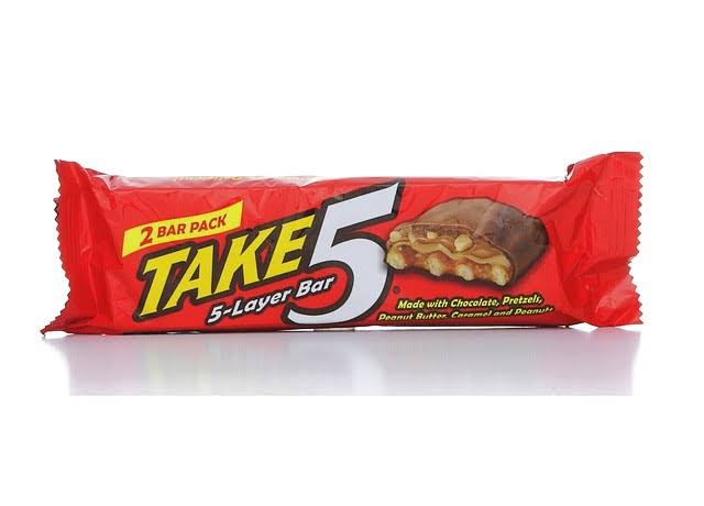 Hershey's Take5 Milk Chocolate Bar - 42g