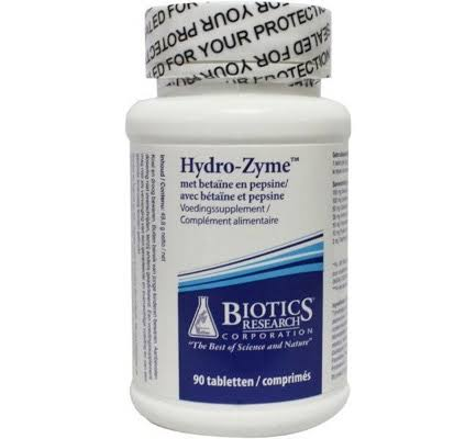 Biotics Research Hydro Zyme Dietary Supplement - 90 Tablets