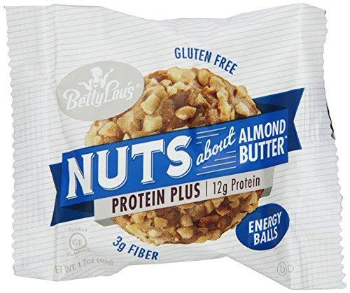 Betty Lou's Nuts About Almond Butter Protein Plus Energy Balls - 1.7 oz each