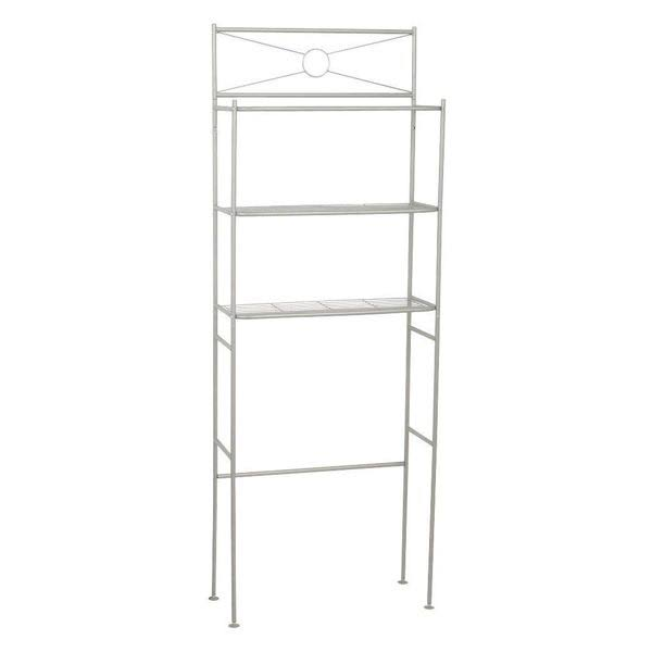 Zenith Products 2623NN Bathroom Storage Unit - Satin Nickel, 3 Shelf
