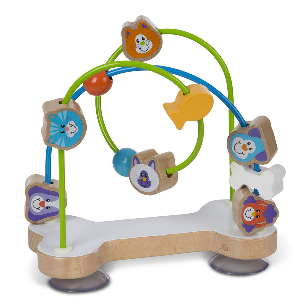Melissa & Doug - First Play Pets Wooden Bead Maze