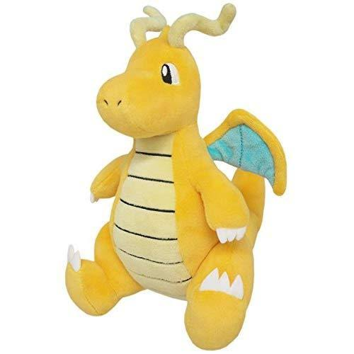 Sanei PP39 Pokemon Dragonite Plush Toy - 8""