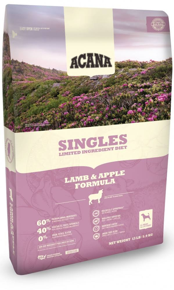 ACANA Singles Lamb & Apple Dry Dog Food 25 lbs