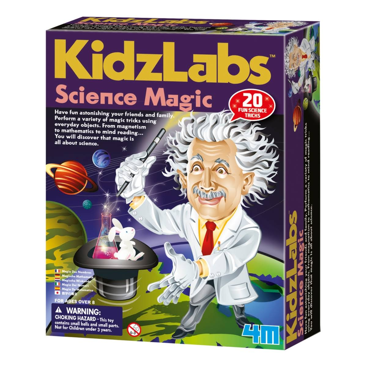 4M KidzLab Science Magic Series Illusion Magic Kit