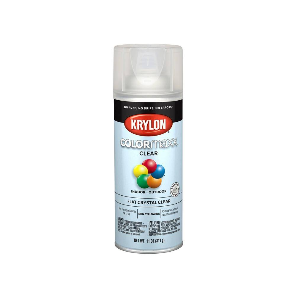 Krylon Colormaxx Spray Paint - Clear, 12oz