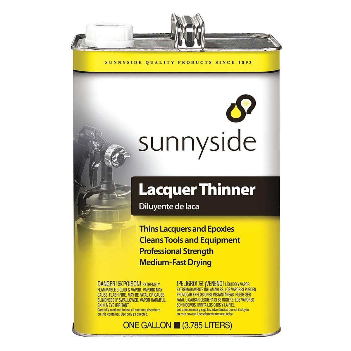 Sunnyside Lacquer Thinner - 1gal